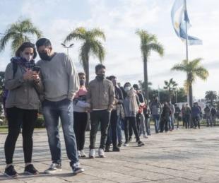 foto: Covid en Argentina: Registraron 15.622 casos y 286 muertos