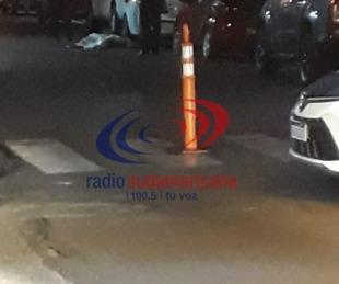 foto: Joven murió y otro está grave tras chocar con una camioneta