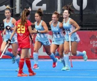 foto: Las Leonas golearon a España por los Juegos Olímpicos Tokio 2020