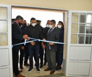foto: En Santa Catalina, el Gobernador inauguró la Comisaría N°23