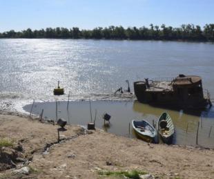 foto: Nación declaró la emergencia hídrica ante la bajante del Paraná
