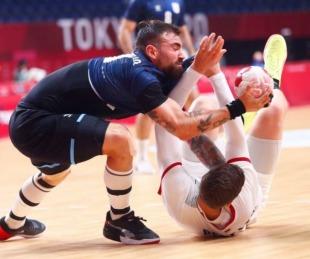 foto: Los Gladiadores jugaron un gran partido pero perdieron con Alemania