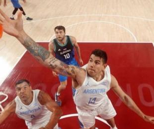 foto: Argentina padeció la actuación de Doncic y cayó ante Eslovenia