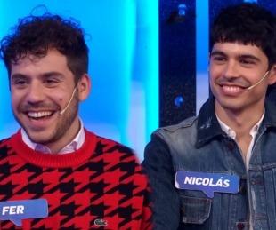 foto: Por primera vez: Fer Dente presentó a su novio en televisión