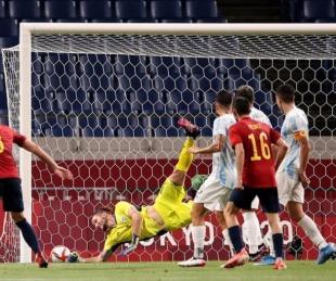 foto: Argentina igualó con España y quedó eliminada de los Juegos Olímpicos