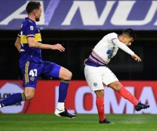 foto: Liga Profesional de Fútbol: San Lorenzo venció a Boca