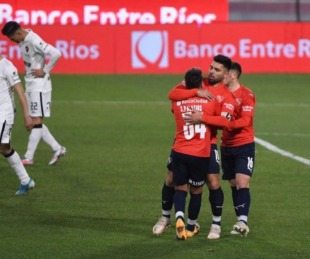 foto: Independiente frenó a Patronato y es uno de los líderes