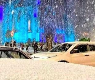 foto: Brasil vivió una nevada histórica en el sur del país