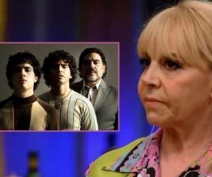 foto: La grave denuncia de Claudia Villafañe contra la serie de Maradona