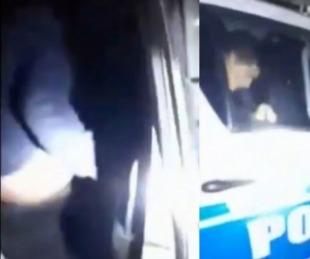 foto: Chaco: Graban a policías abusando de una joven en un patrullero