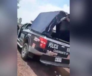 foto: México: escrachan a dos policías teniendo sexo en una patrulla