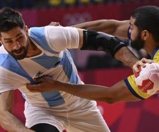 foto: Argentina perdió con Brasil y quedó eliminada en handball