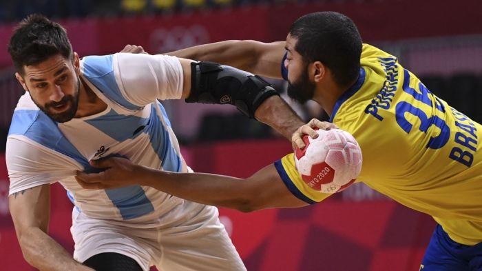 Argentina perdió con Brasil y quedó eliminada en handball