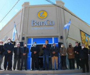 foto: Nuevo edificio del BanCo: Valdés inauguró moderna sucursal