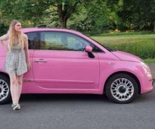 foto: Transformó un Fiat 500 en una pequeña casa rodante y quedó genial