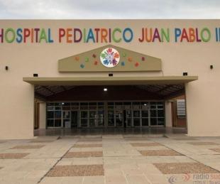 foto: Hay cinco menores internados con Covid 19 en el Hospital Pediátrico