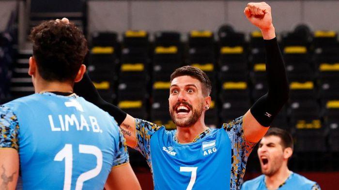 La selección argentina de vóley tuvo una gran reacción ante Túnez