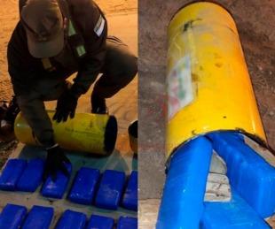 foto: Gendarmería incautó 15 kilos de cocaina en dos operativos