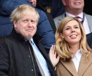 foto: Boris Johnson y su esposa Carrie Symonds esperan su segundo bebé