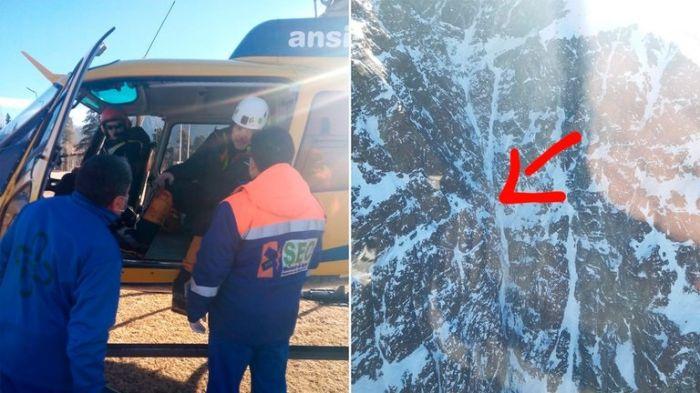 Mendoza: rescatan a andinistas que estuvieron dos días desaparecidos