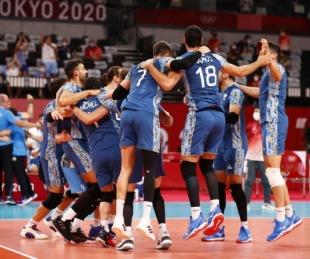 foto: Tokio 2020: La Selección de vóley irá en cuartos de final ante Italia