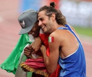 foto: Acuerdo, medalla de oro compartida y locura en salto en alto