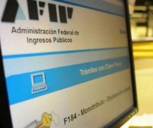 foto: Cómo hablar con la atención virtual de la AFIP