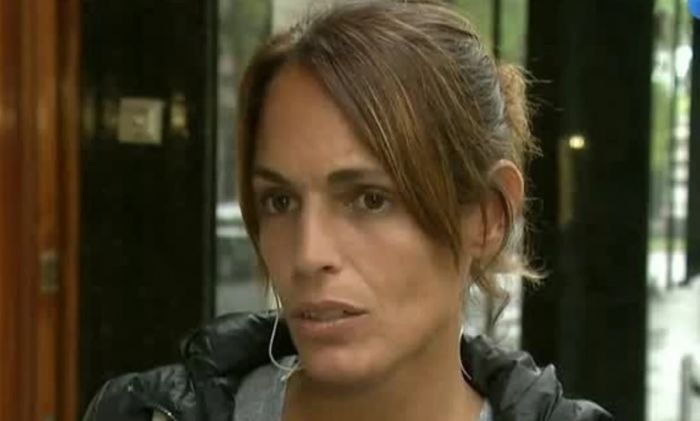 Detuvieron a la ex de Sergio Denis por intentar robar en un shopping