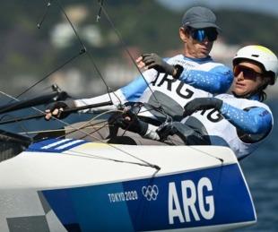 foto: Lange y Carranza se despidieron de los Juegos con una victoria