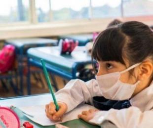 foto: Valdés no descartó presencialidad plena en escuelas si bajan los casos