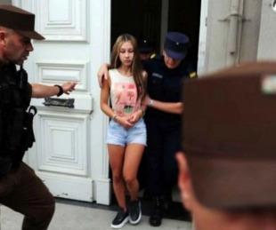 foto: Nahir Galarza fue acusada de soplona denunció maltrato