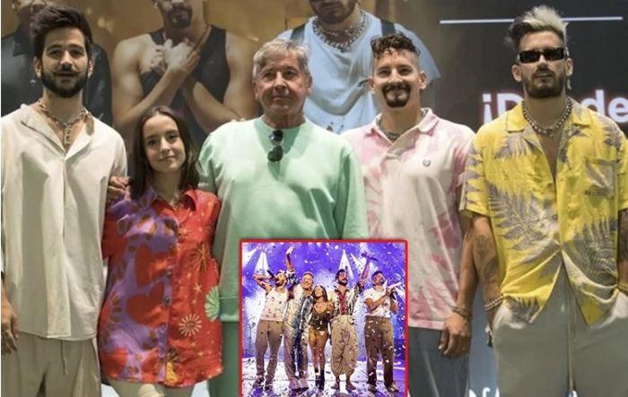 La descomunal cifra que ganaron los Montaner en un show virtual
