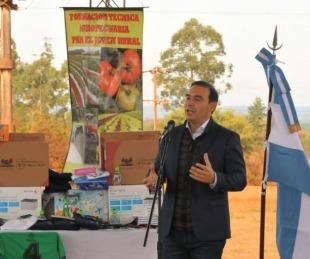 foto: Valdés inauguró infraestructura educativa en escuelas rurales de Virasoro