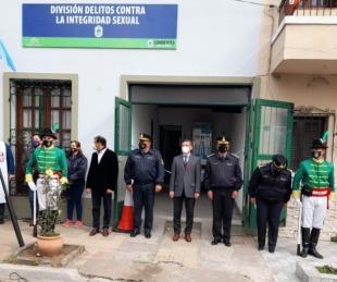 foto: Inauguraron la sede de la División de Delitos Sexuales en Capital
