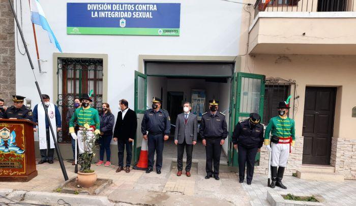 Inauguraron la sede de la División de Delitos Sexuales en Capital
