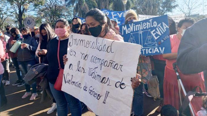 Violencia: joven misionera que escapó de su pareja en Paraguay