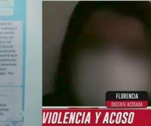 foto: Desesperado pedido de una docente acosada por un alumno