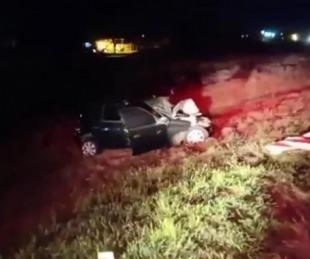 foto: Goya: una mujer murió tras un choque frontal sobre Ruta Nº 27