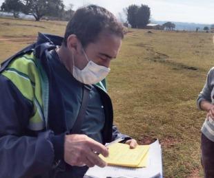 foto: Realizan operativo de vacunación contra Fiebre Amarilla