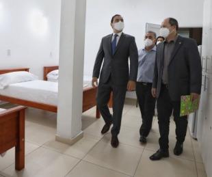 foto: Inauguraron mejoras en Dirección de Emergencias Sanitarias