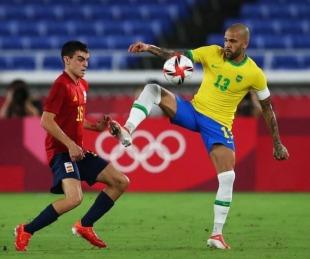 foto: JJOO: Brasil venció a España y se quedó con la medalla de oro