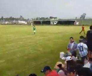 foto: Ejecutaron a tres hombres durante un partido de fútbol en México
