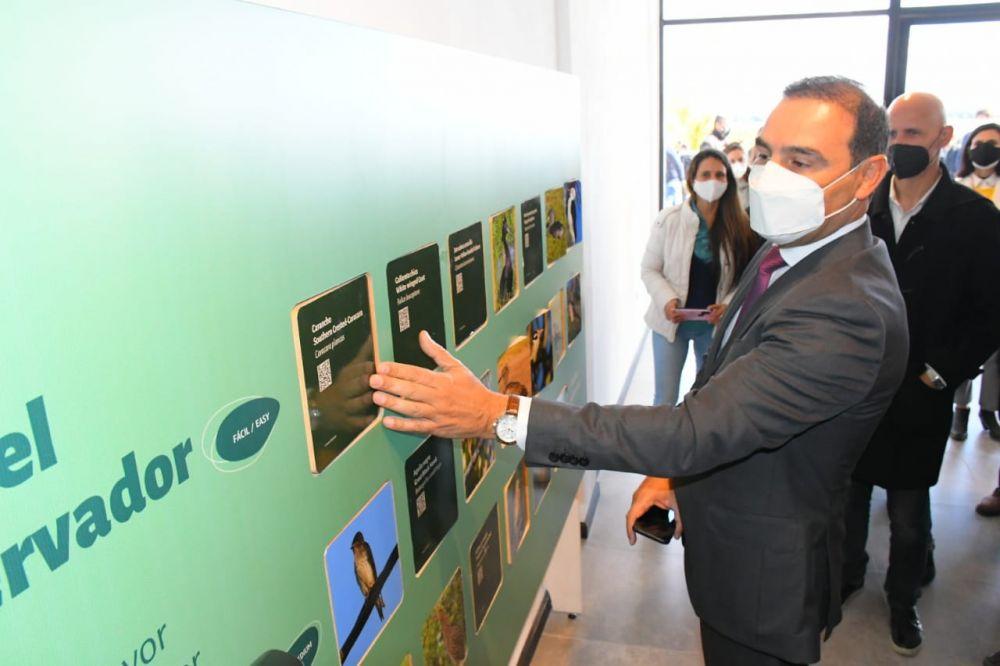 Valdés inauguró el Centro Ornitológico del Iberá en Ituzaingó
