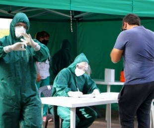 foto: Detectaron 449 casos de Covid en Corrientes y suma 102.281 totales
