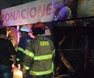 foto: Tragedia en Quilmes: se incendió un importante refugio de animales
