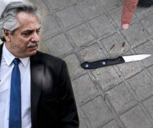 foto: Detienen a una mujer armada que esperaba a Alberto Fernández