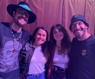 foto: Gianinna Maradona y Daniel Osvaldo salieron con Tévez y su esposa