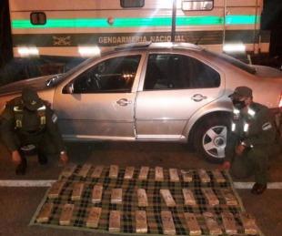 foto: Llevaba marihuana oculta en un auto desde Corrientes a Rosario
