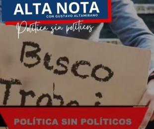 foto: Alta Nota salió a la calle: qué le pide la gente a la clase política