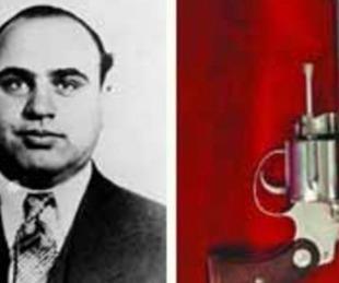 foto: Subastarán armas y objetos que pertenecieron a Al Capone